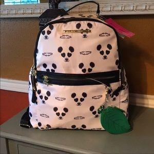 Betsey Johnson Panda Backpack